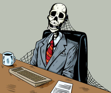 service desk: Dead in call centre