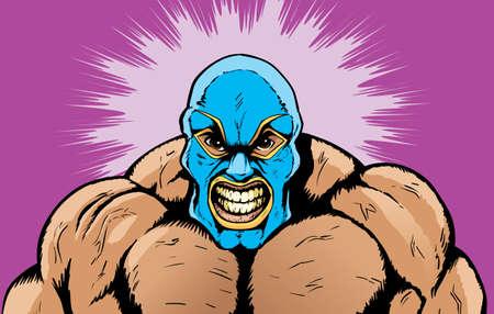 wrestler: Angry wrestler