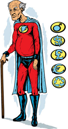 frail: Old superhero