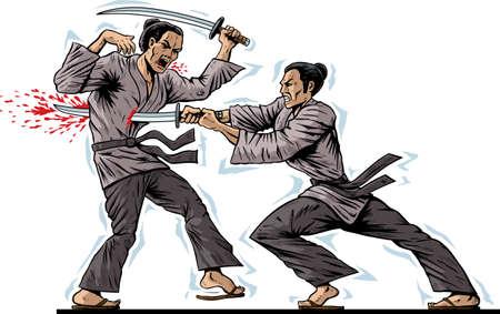 thrusting: Samurai Kill