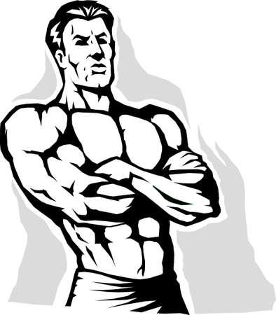 stance: Power stance Illustration