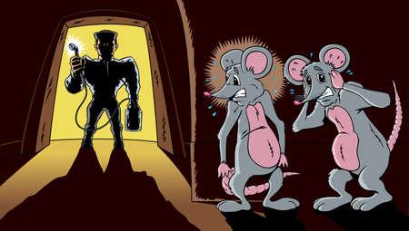 The pest exterminator
