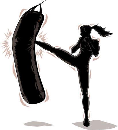 Kickboxer    Vector