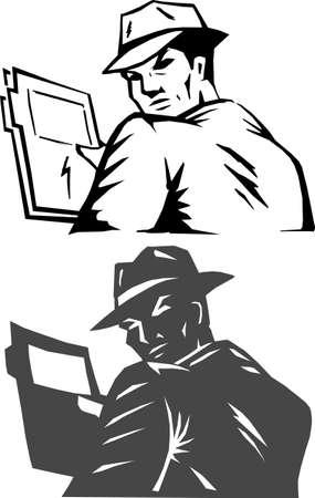Gestileerde geheim agent