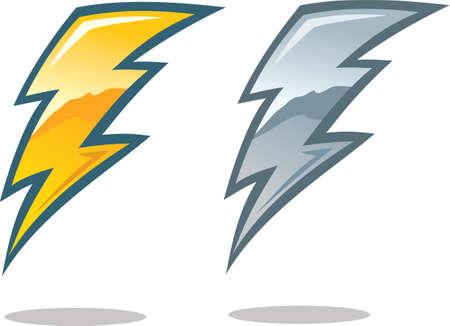 lightning bolt: Lightning Bolt Symbol  Illustration