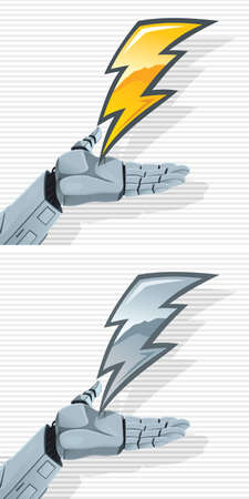 pinky: Robot Hand and Bolt