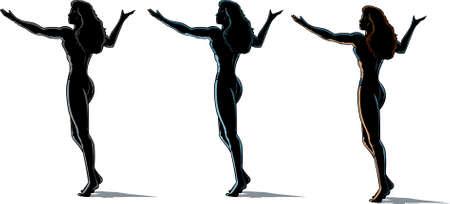 diosa griega: Chica esquema