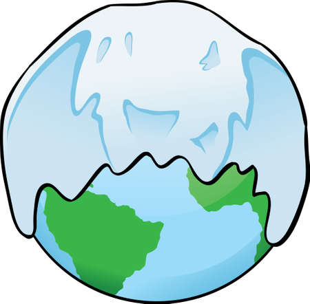 Snow Globe Ilustração