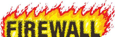Firewall Stock Vector - 19832699