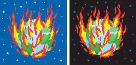 burning: The burning Earth
