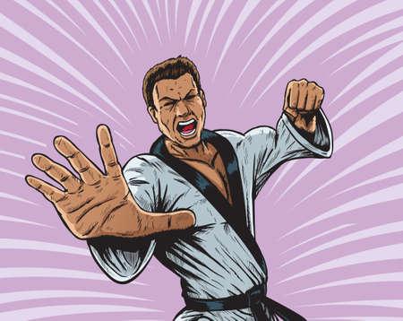 Karate Punch Man