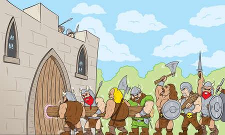 ゲートの野蛮人