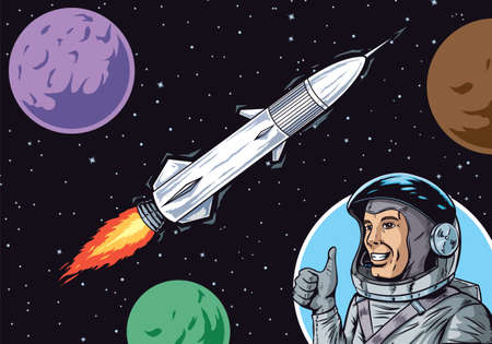 nuclear bomb: Interplanetary travel Illustration