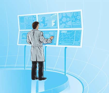 Comic Laboratory Ilustrace