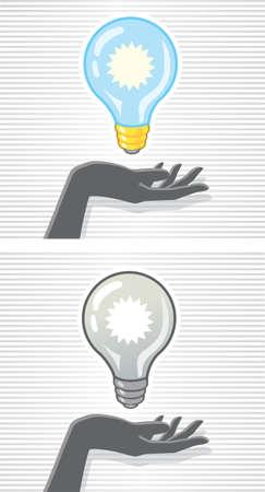 Handy Idea Illustration