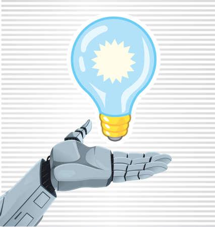 Idea del robot Archivio Fotografico - 21697988
