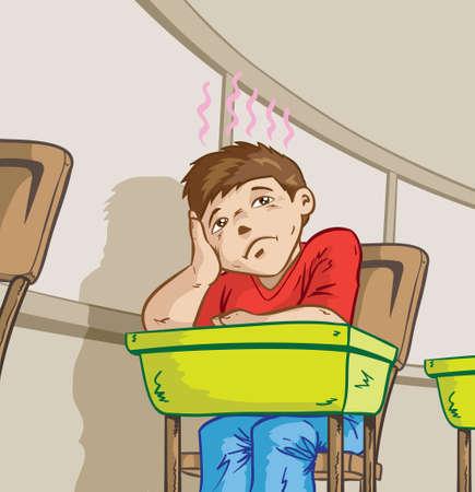 hyperactivity: Bored student