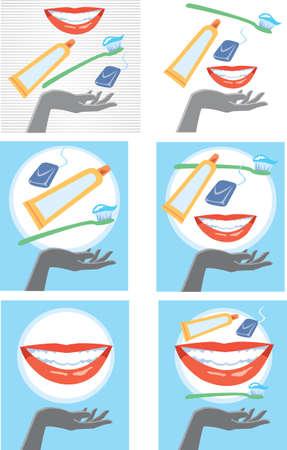 dentist smile: Dental care