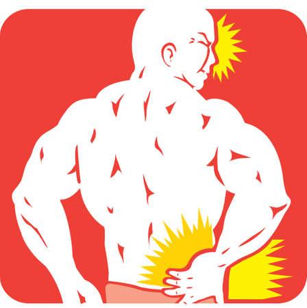 pain: Back Pain icon