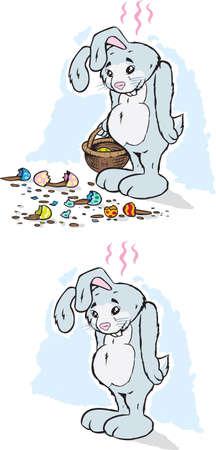 gift accident: Sad Rabbit
