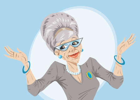 personas mayores: Te lo dije