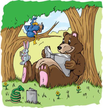 動物を読む