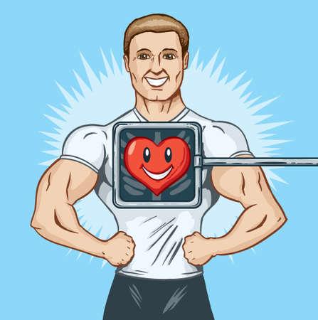 heart disease: Healthy heart