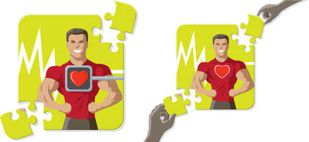 heart disease: Healthier man