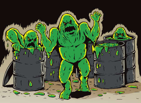 nuclear waste disposal: Attack of the slime monsters
