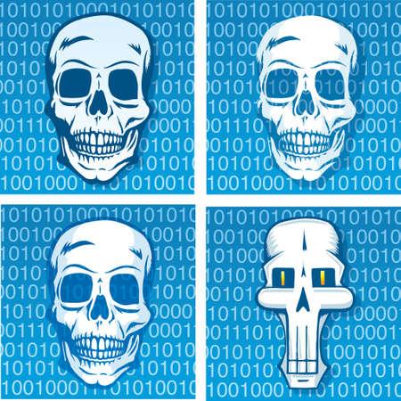 copying: Death code Illustration