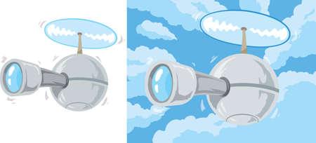 dystopia: Cartoon Drone