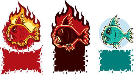 charred: Hot fish