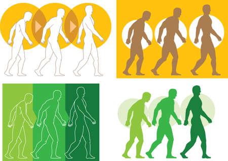 chiropractor: Evolving man