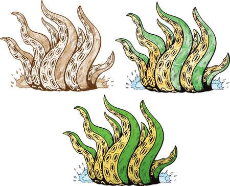 Tentacles Ilustrace