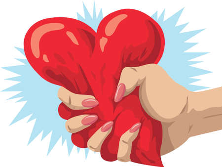 Heartbreaker 版權商用圖片 - 27296094