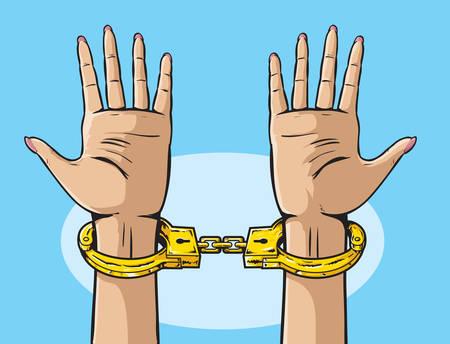 handcuffs: Golden Handcuffs