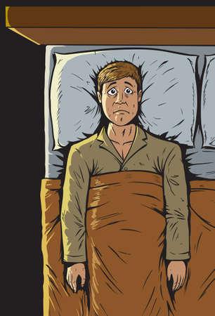 Can t sleep  Ilustração