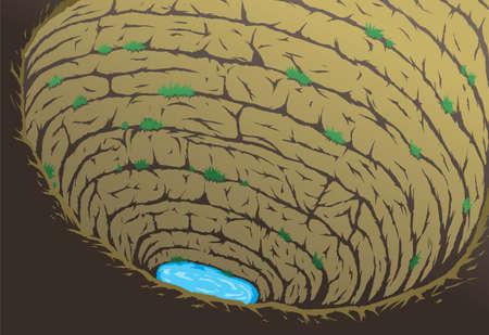 Diepe grot