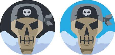 scoundrel: Pirata icona Skull