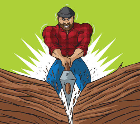 Lumberjack chop