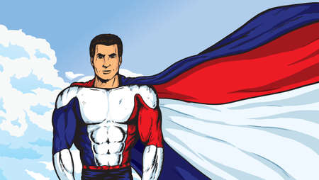 frenchman: A Super Parisian Illustration