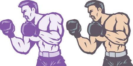 Stylized Side Boxer
