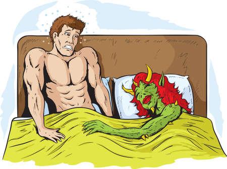 sex man: Rude awakening