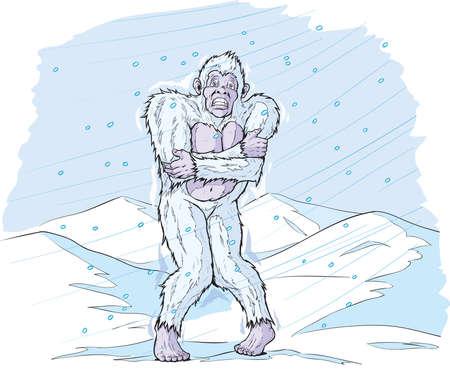 hominid: Cold Sasquatch