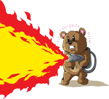 Flamethrower Bear