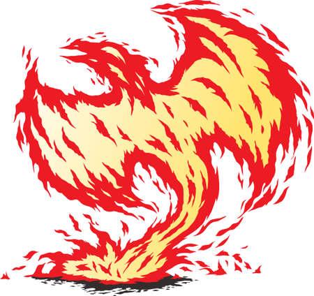 mythical phoenix bird: Phoenix reborn