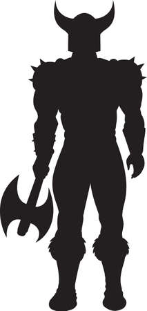 solider: Standing Viking