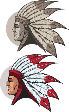indian headdress: Native American