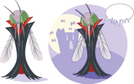 Vampire mosquito