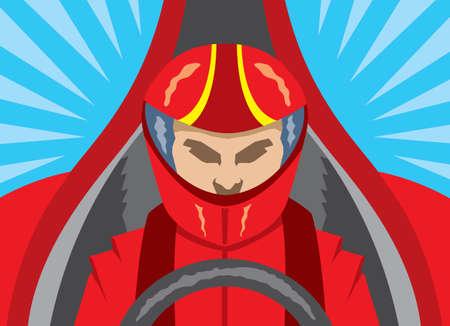 helmet seat: Race Car Driver icon
